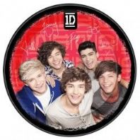 One direction paper plates  3 for 50p(Code 1430)